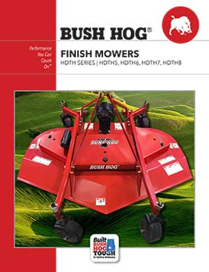 Bush Hog finish mowers