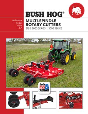 Bush Hog multi-spindle rotary cutters