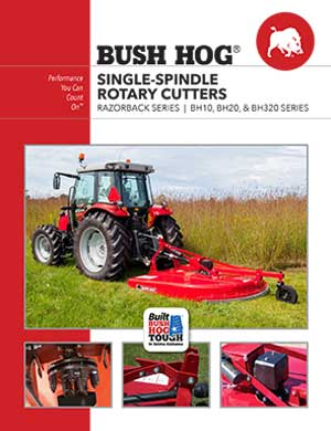 Bush Hog single-spindle rotary cutters