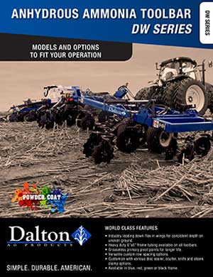 Dalton anhydrous applicators