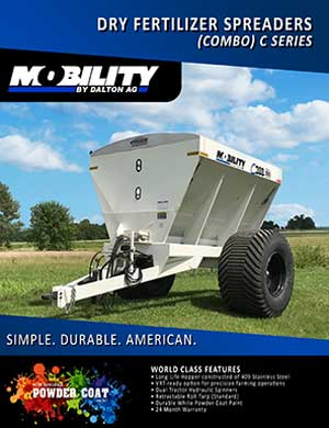 Dalton combo dry fertilizer spreaders