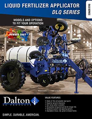 Dalton liquid fertilizer spreaders