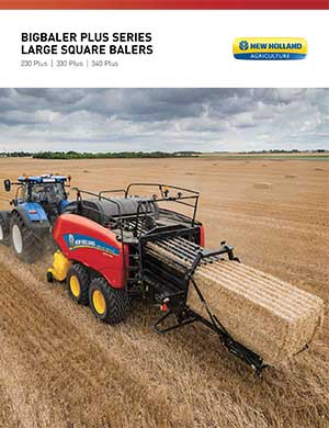 New Holland Big Baler Plus balers