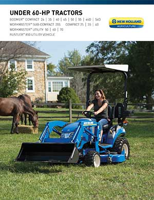 New Holland Boomer and Workmaster tractors