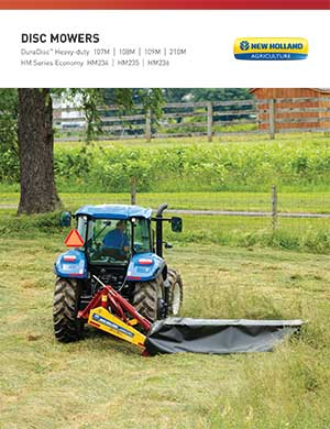 New Holland Dura-Disc disc mowers
