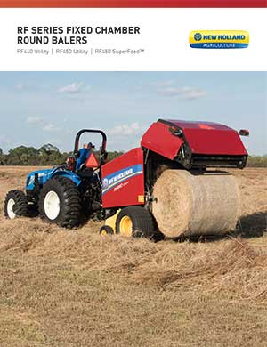 New Holland fixed chamber balers