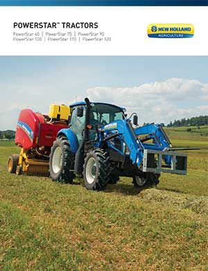 New Holland Powerstar tractors
