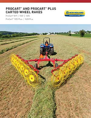 New Holland ProCart and ProCart Plus carted wheel rakes
