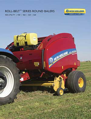 New Holland roll-belt balers