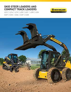 New Holland skid steers and track loaders