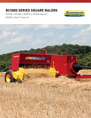 New Holland square balers