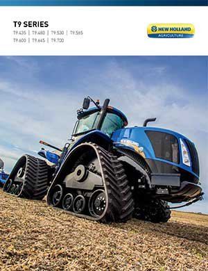 New Holland T9 Series tractors