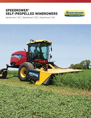 New Holland self-propelled windrowers