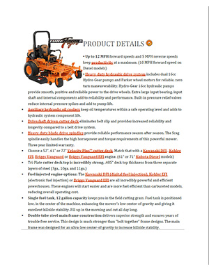 Product Brochures   St  Joseph Tractor   2 Missouri