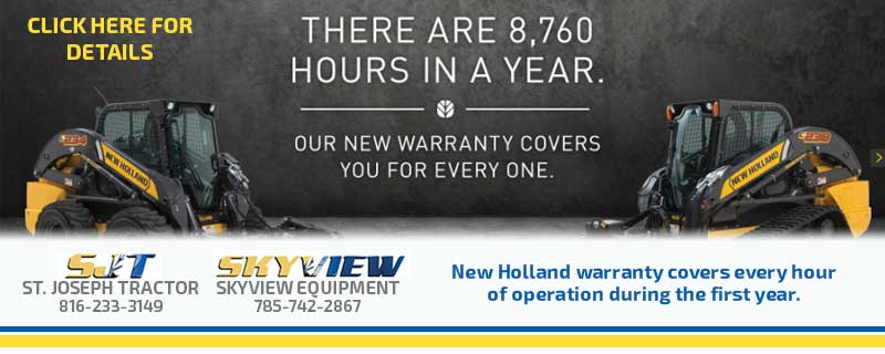 new holland construction warranty